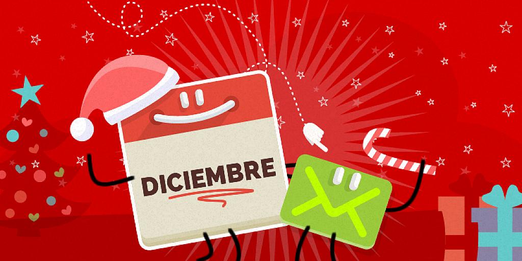 Navidad y Año nuevo se acercan! Es momento de planificar tus Campañas de Email Marketing