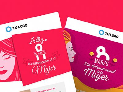 Nuevos templates responsivos para celebrar el Día de la Mujer