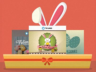 Templates responsivos festivos: Felices Pascuas!